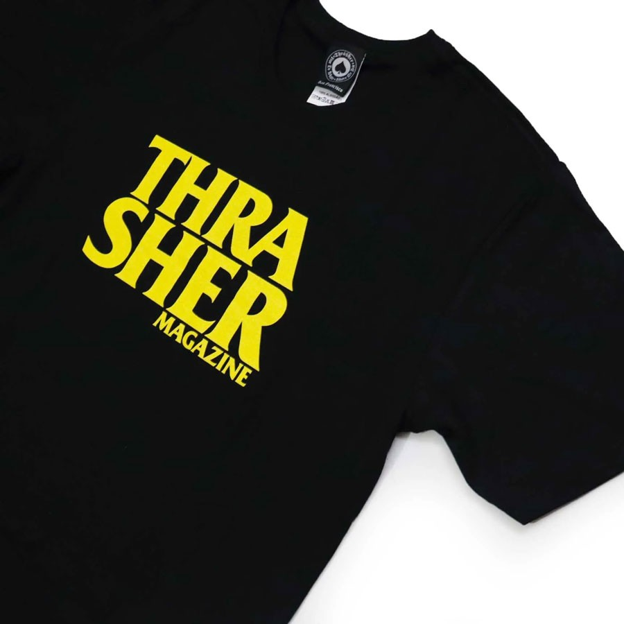 Camiseta Thrasher Anti Logo Preta