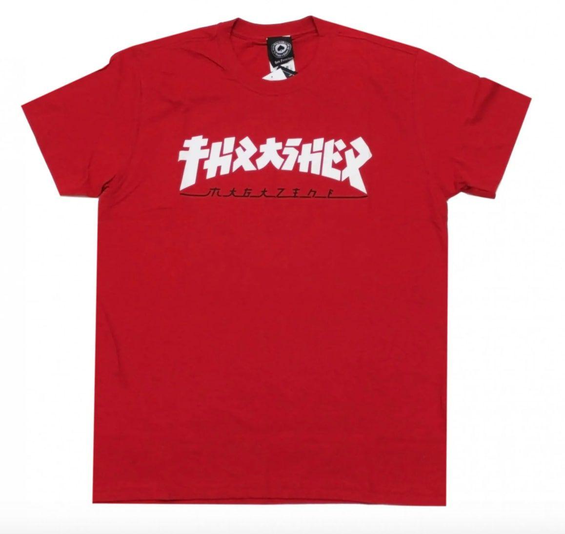 Camiseta Thrasher Godzilla Red