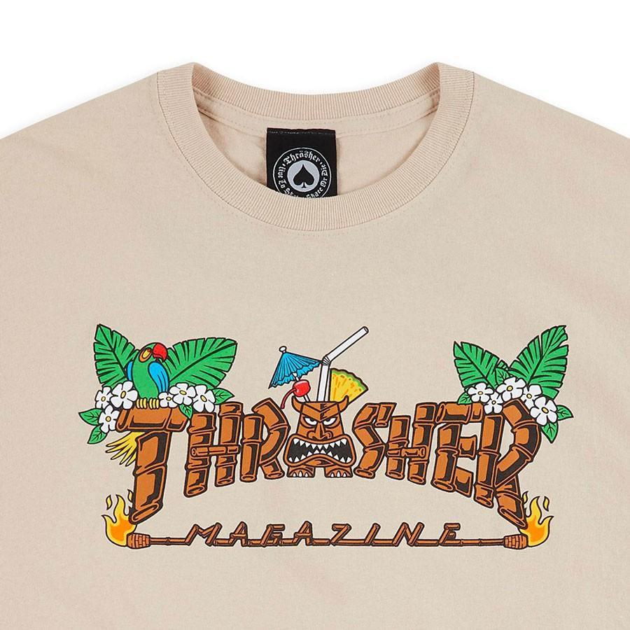 Camiseta Thrasher Tiki Areia