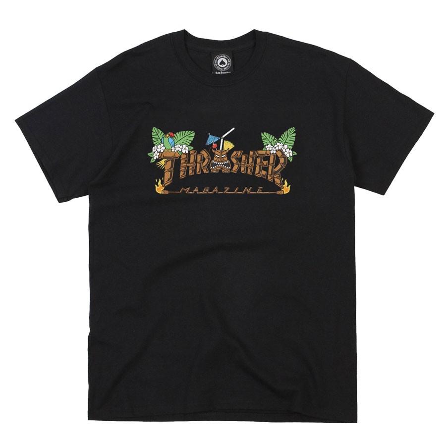 Camiseta Thrasher Tiki Preta