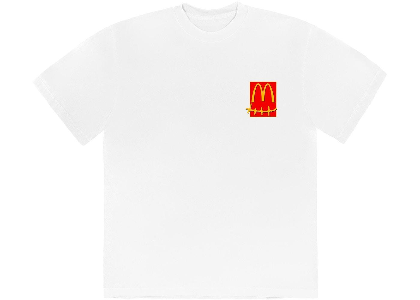 Camiseta Travis Scott x McDonald's Action Figure Series White