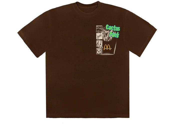 Camiseta Travis Scott x McDonald's Cactus Pack Vintage Promo