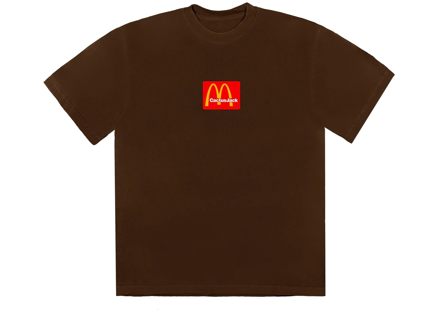 Camiseta Travis Scott x McDonald's Sesame III