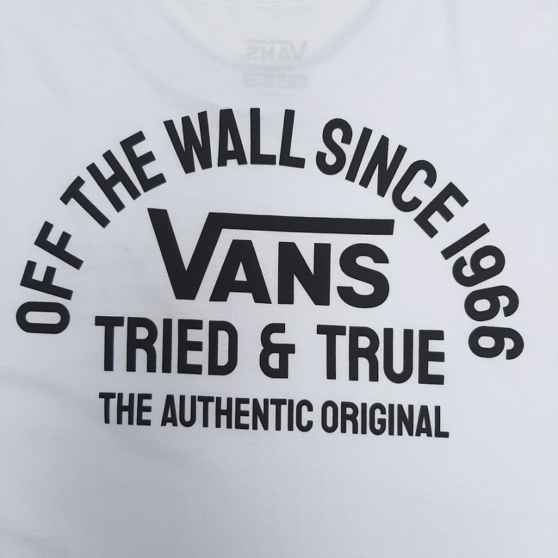Camiseta Vans Authentic OG White