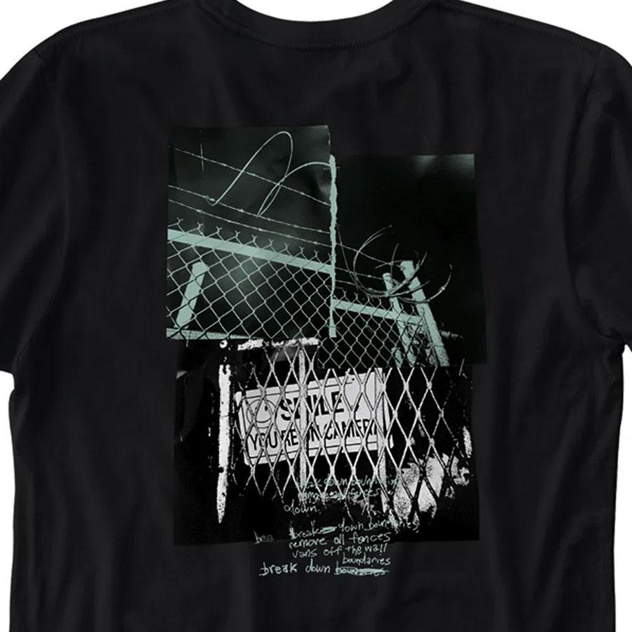 Camiseta Vans Boundaries Preta