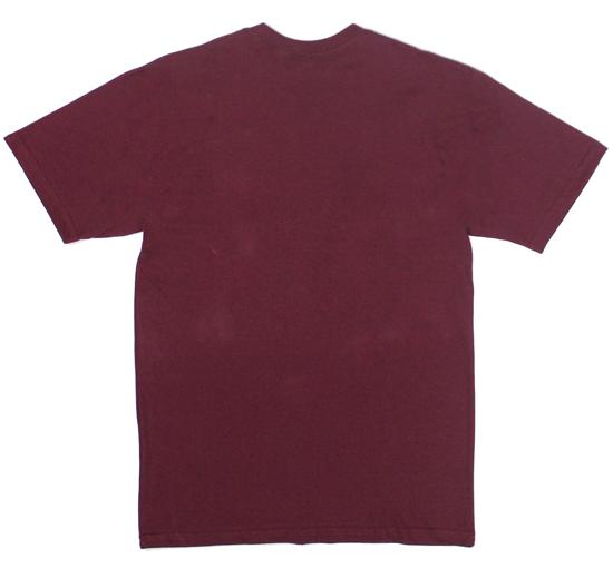 Camiseta Vans Classic Burgundy White