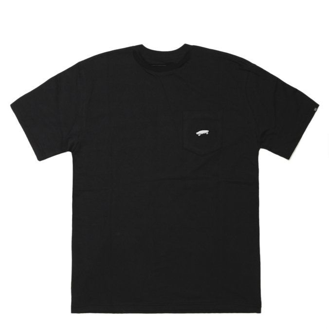 Camiseta Vans Everyday Pocket II Black