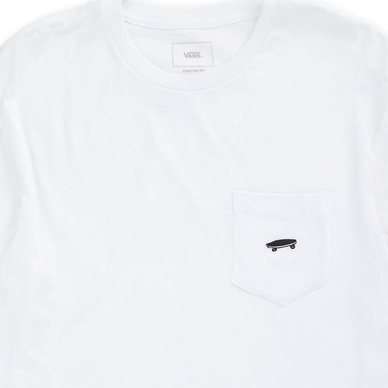 Camiseta Vans Everyday Pocket II White