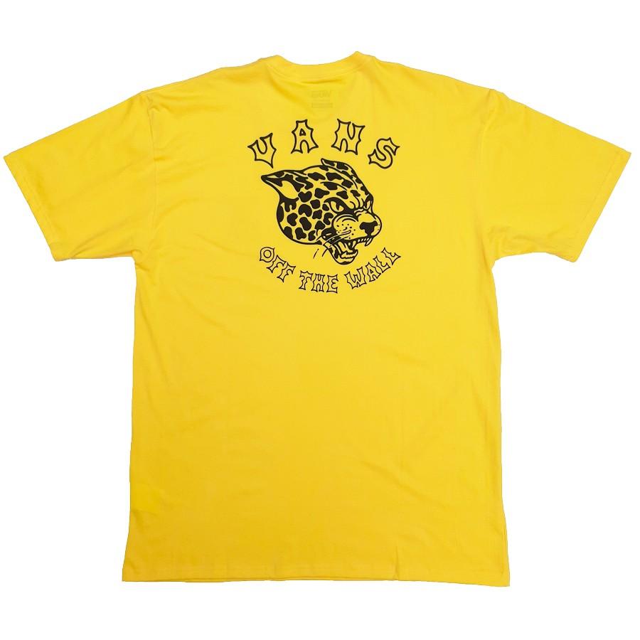 Camiseta Vans Gnarcat Lemon Chrome