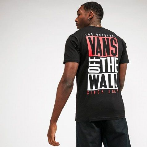 Camiseta Vans New Stax Black