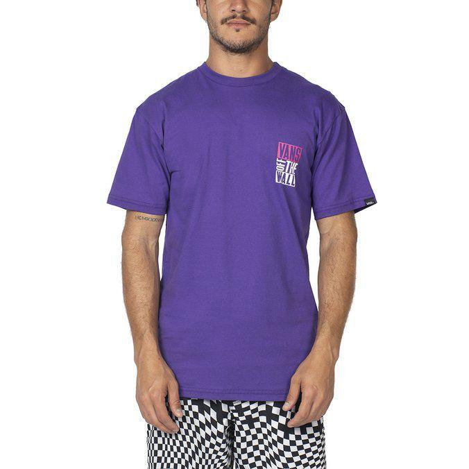 Camiseta Vans New Stax Purple