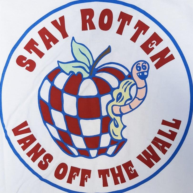 Camiseta Vans Stay Rotten SS White