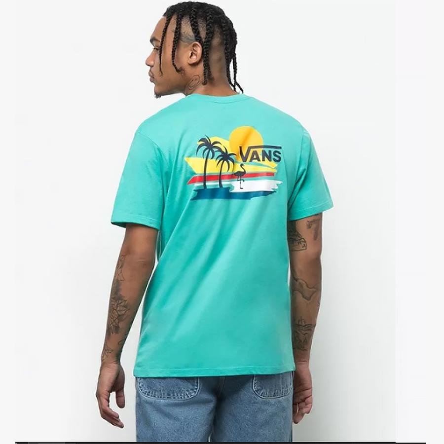 Camiseta Vans Vintage Beach