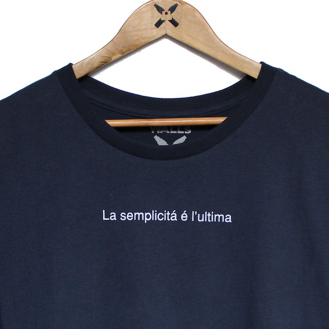 Camiseta Walls Big Back Gucci Navy