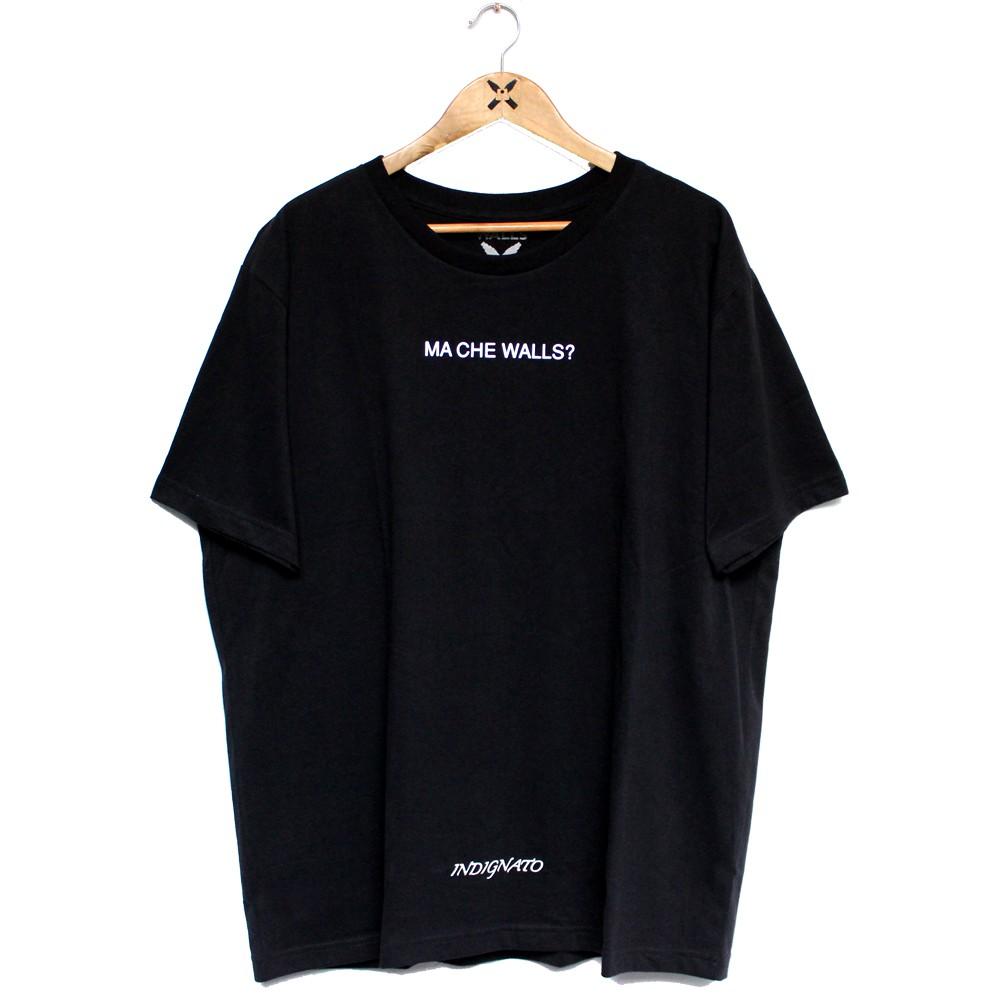 Camiseta Walls Big Back Italian Hand Preto