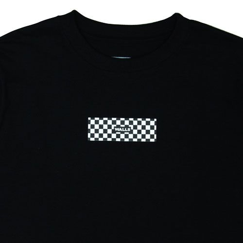 Camiseta WALLS Box Logo Checkerboard Preta