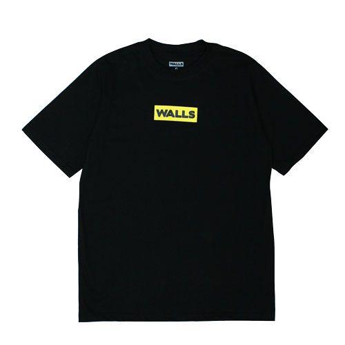 Camiseta WALLS Box Logo Yellow  Homem