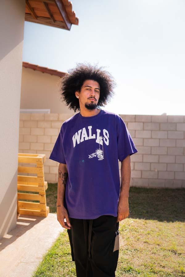Camiseta WALLS College Purple