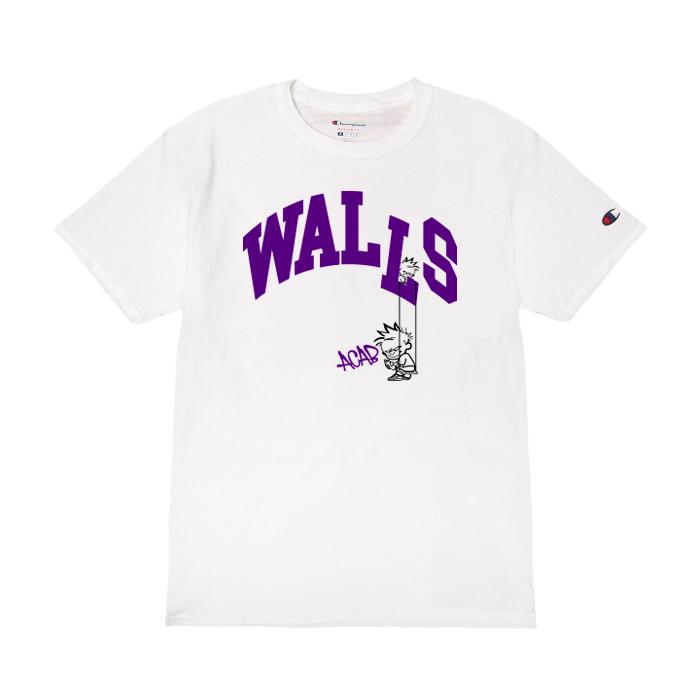 Camiseta WALLS College White