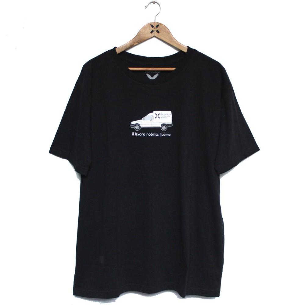 Camiseta Walls Fiorino Preto