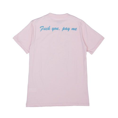 Camiseta WALLS Pay Me Light Pink