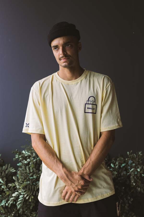 Camiseta WALLS Rolê Canário