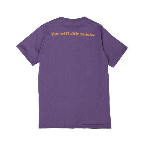 Camiseta WALLS Shit Bricks Purple