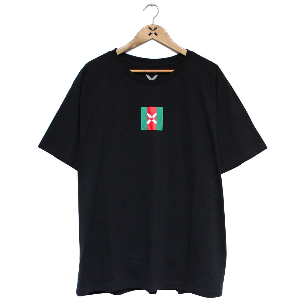 Camiseta Walls Square Logo Gucci Preta