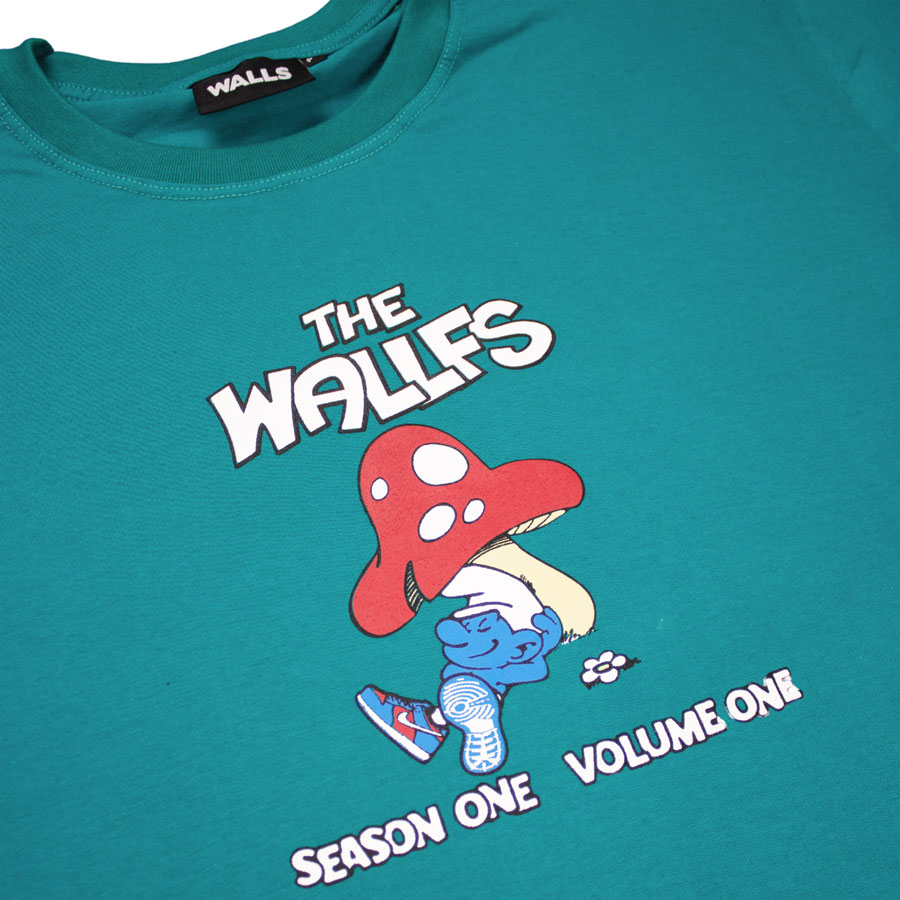 Camiseta WALLS Wallfs Esmeralda