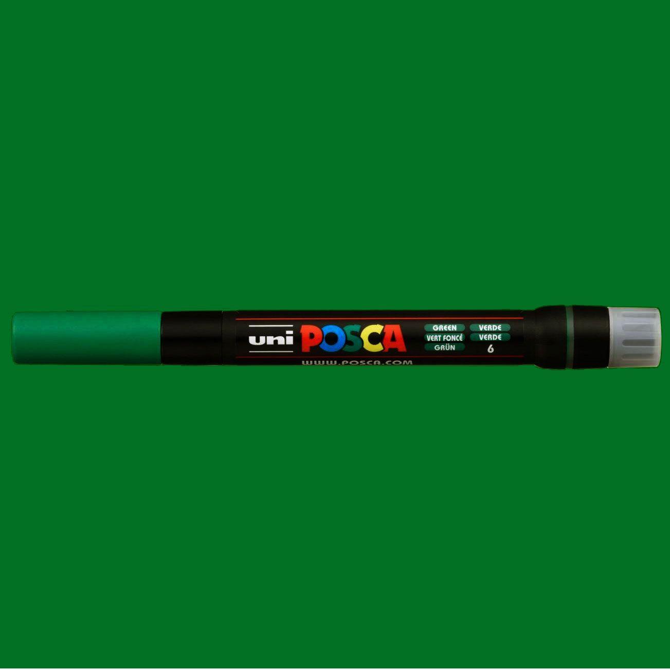 Caneta Brush Posca PCF 350 Verde