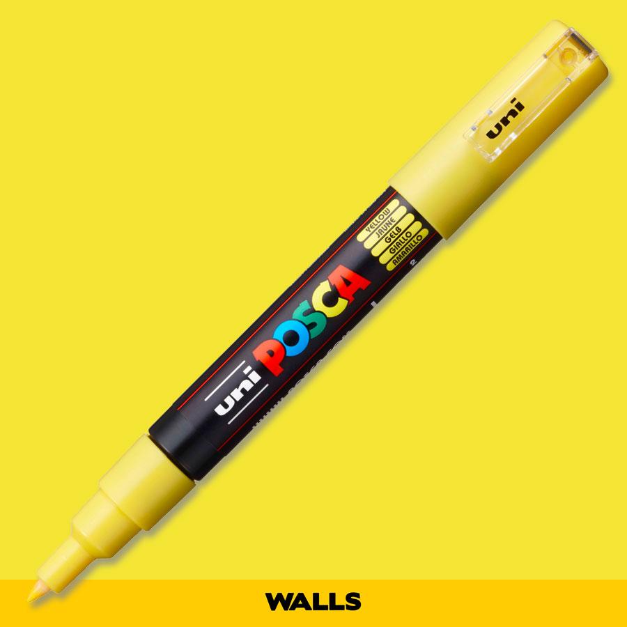 Caneta Posca 1M Amarela