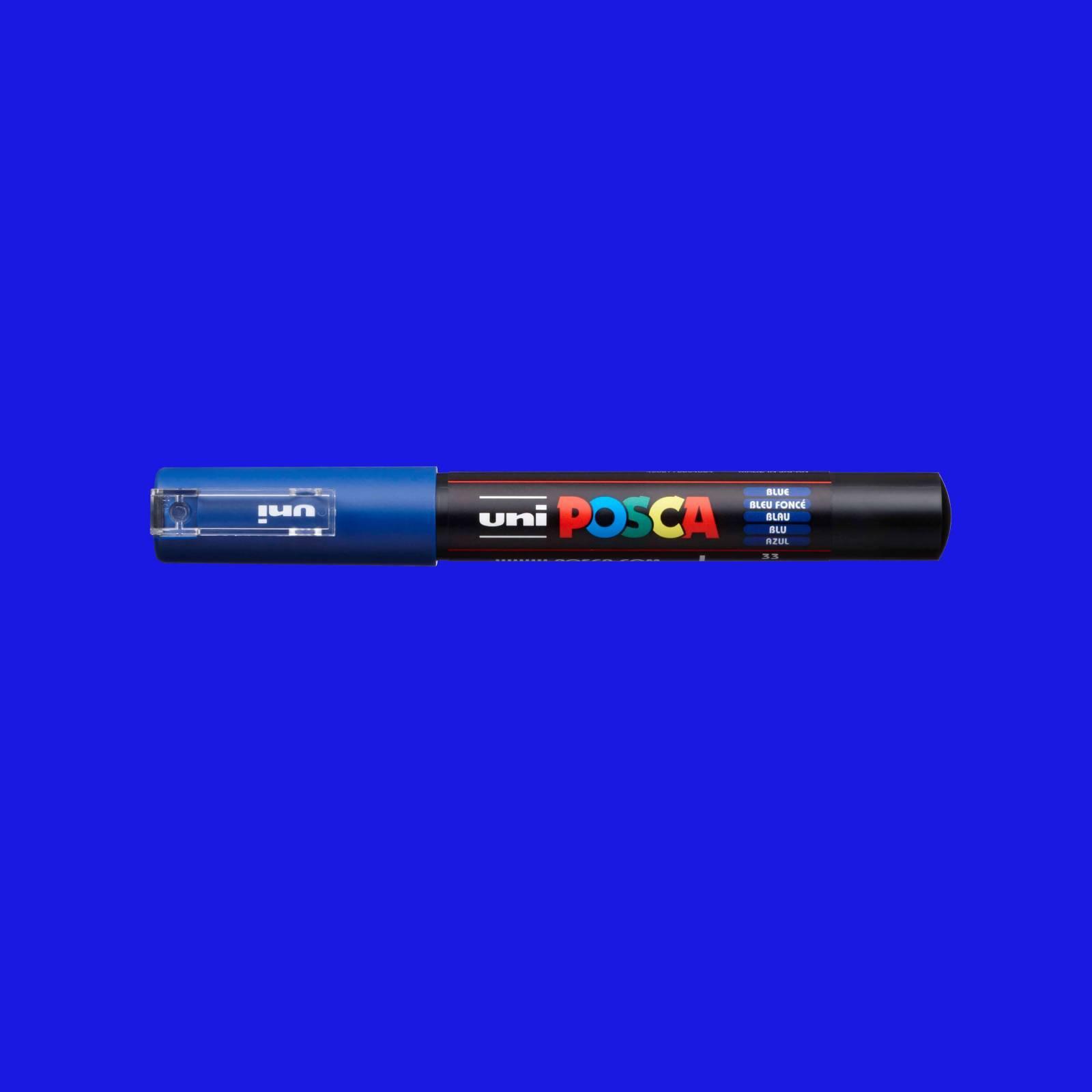 Caneta Posca 1M Azul