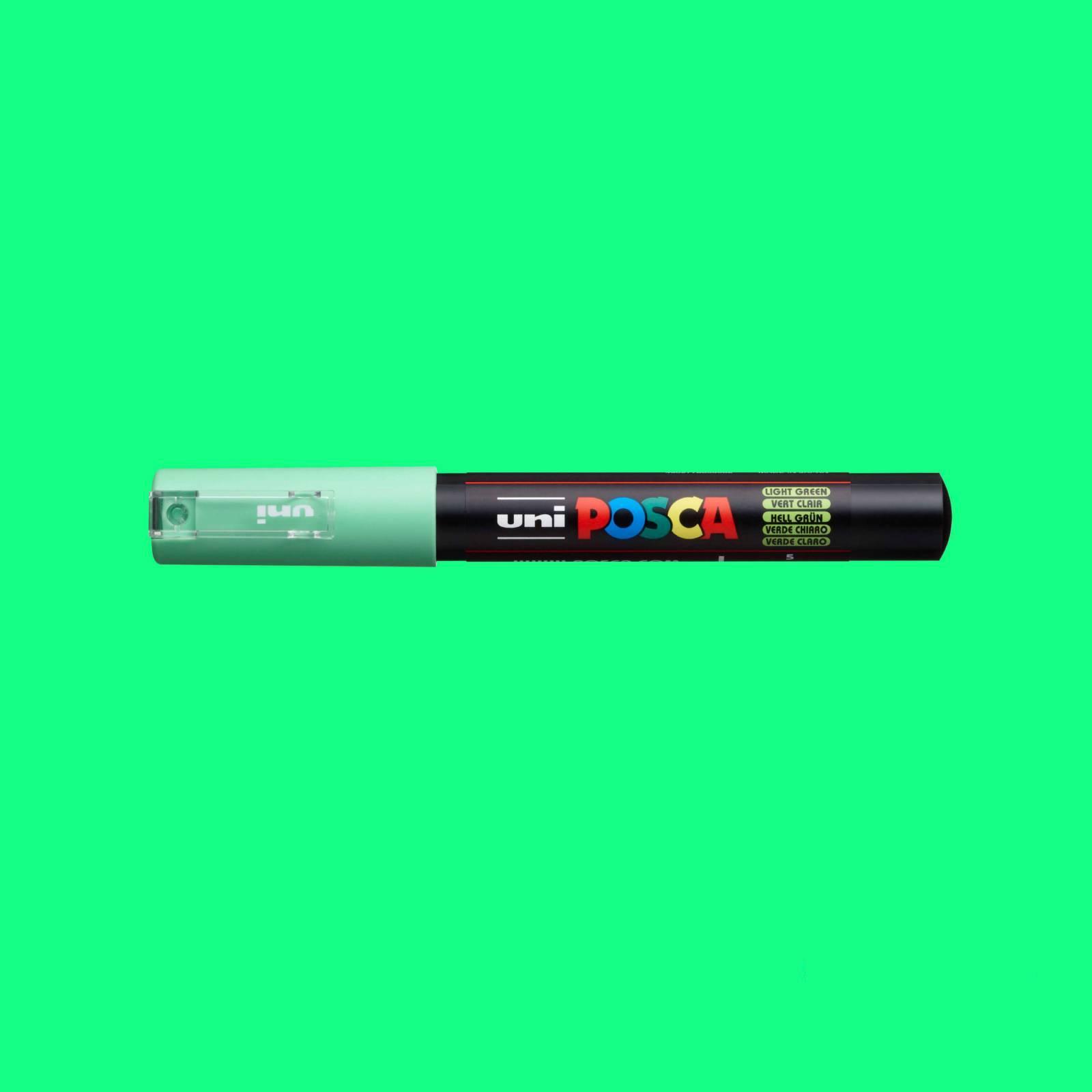 Caneta Posca 1M Verde Claro