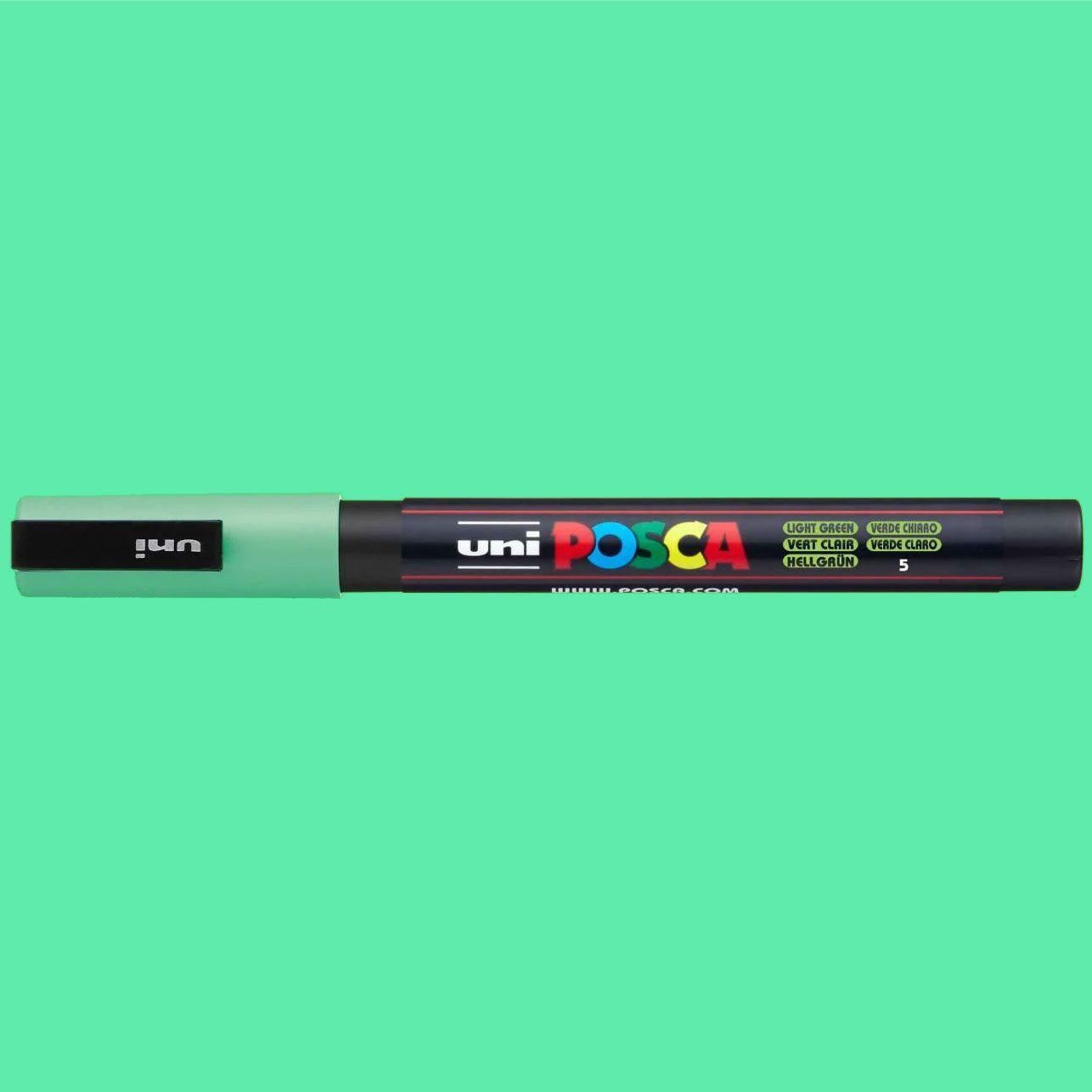 Caneta Posca 3M Verde Claro