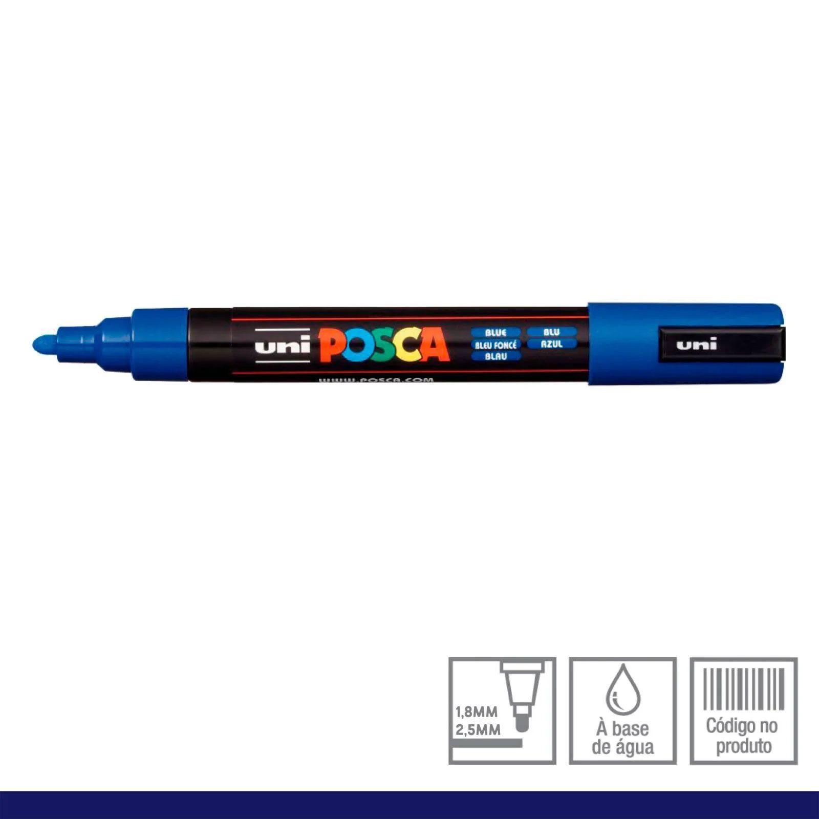 Caneta Posca 5M Azul