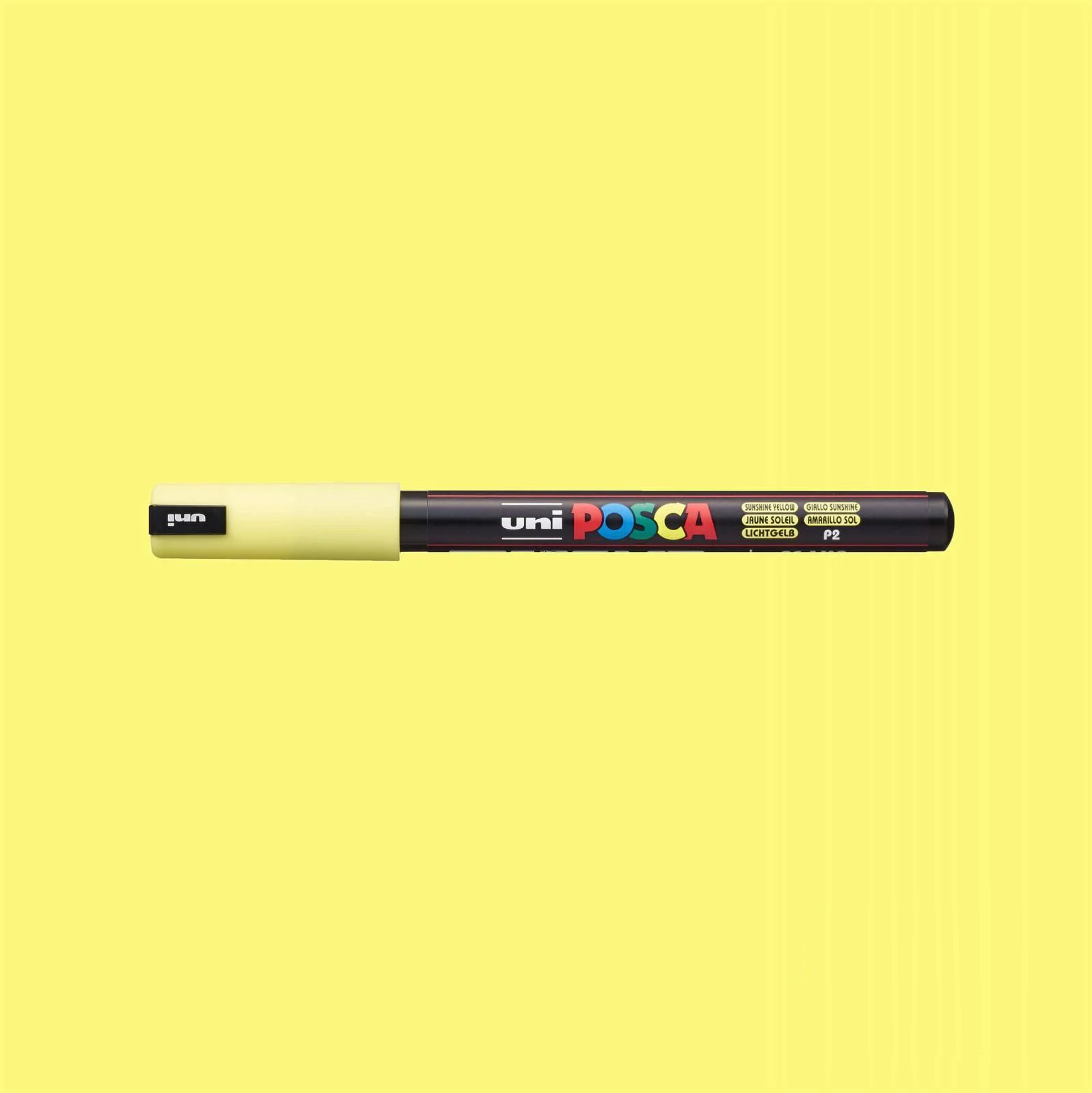 Caneta Posca PC 1MR Amarelo Pastel