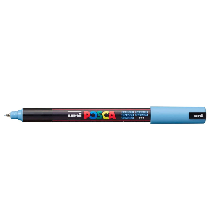 Caneta Posca PC 1MR Azul Glacial