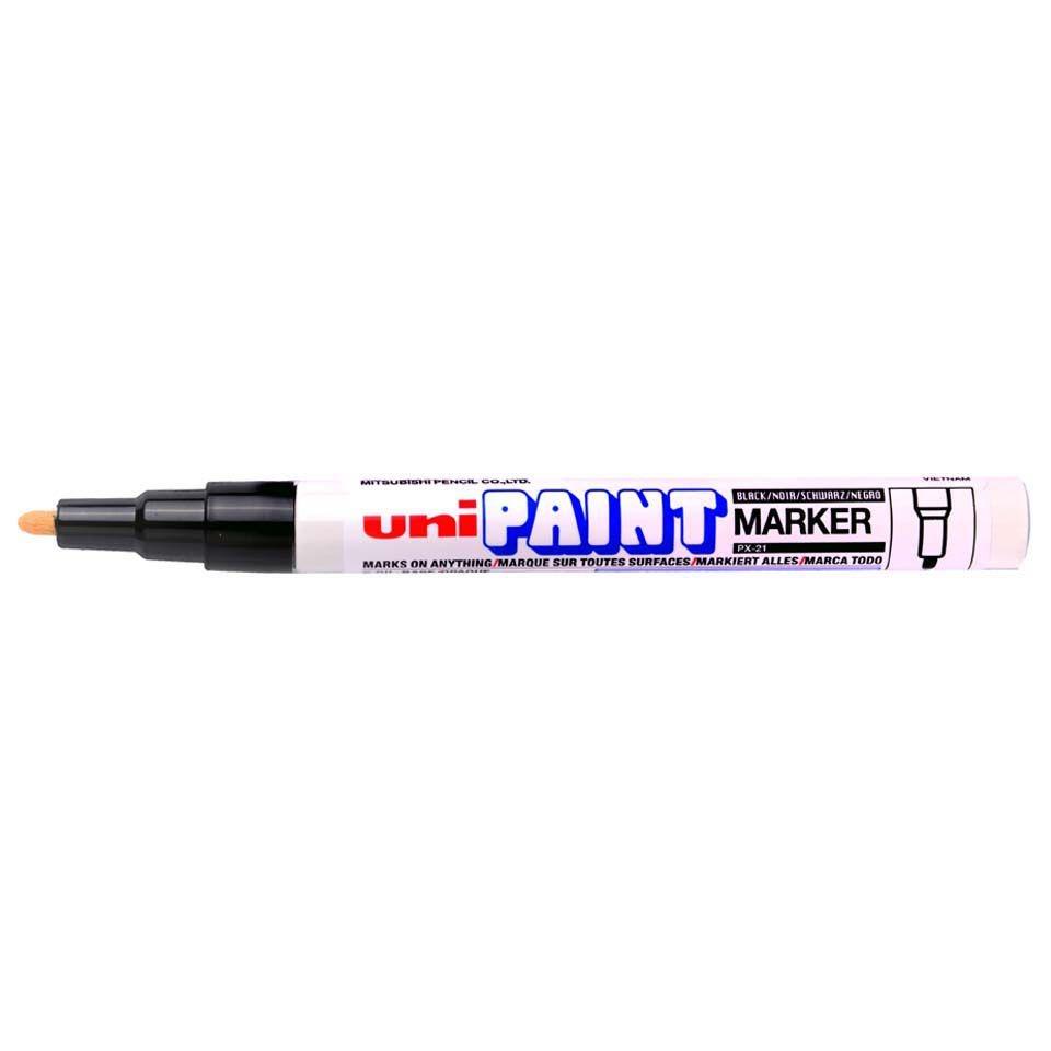 Caneta Uni Paint PX21 Preta
