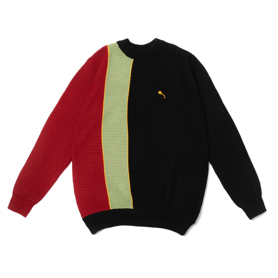 Class Knit Sweater Pipa Tricolor