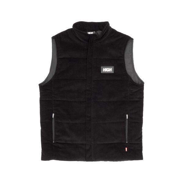 Colete High Corduroy Vest Black
