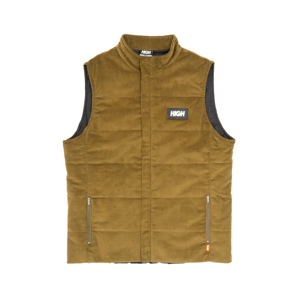 Colete High Corduroy Vest Olive Green