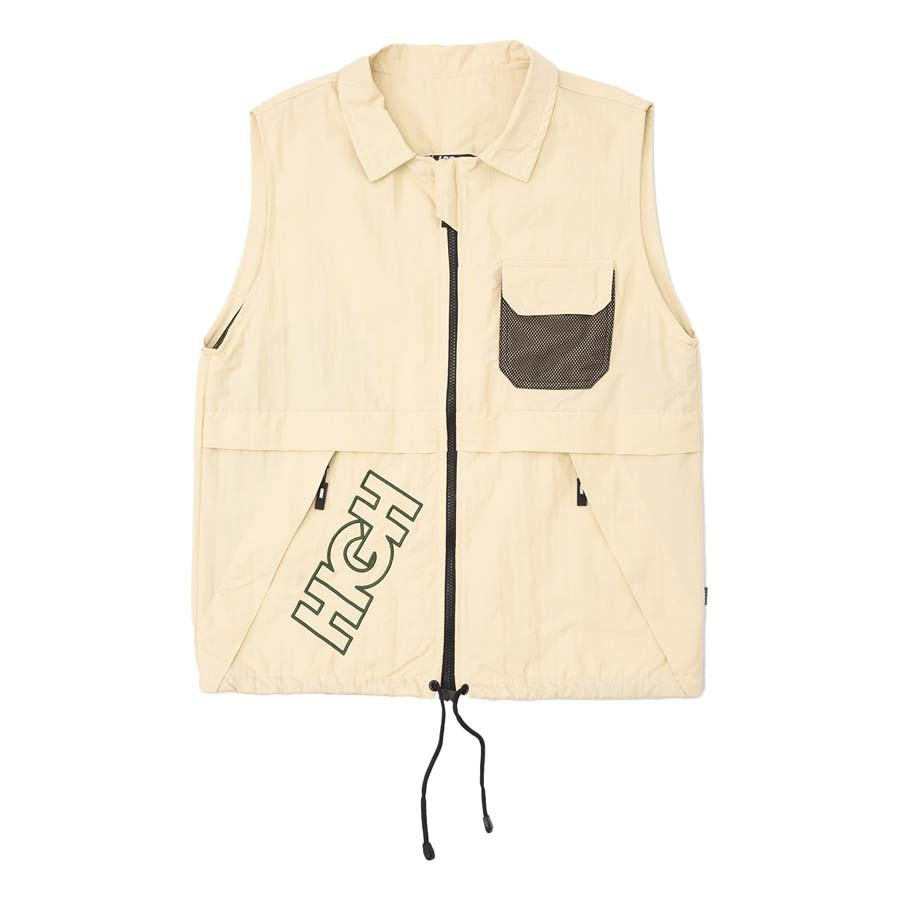 Colete High Explorer Vest Beige