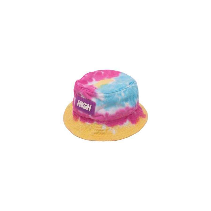 High Dyed Bucket Hat Blue