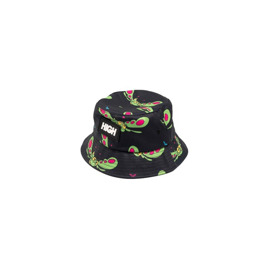 High Groove Bucket Hat Black