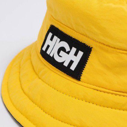 HIGH Reversible Bucket Hat logo Yellow/Black