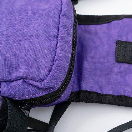 HIGH Shoulder Bag Logo Purple