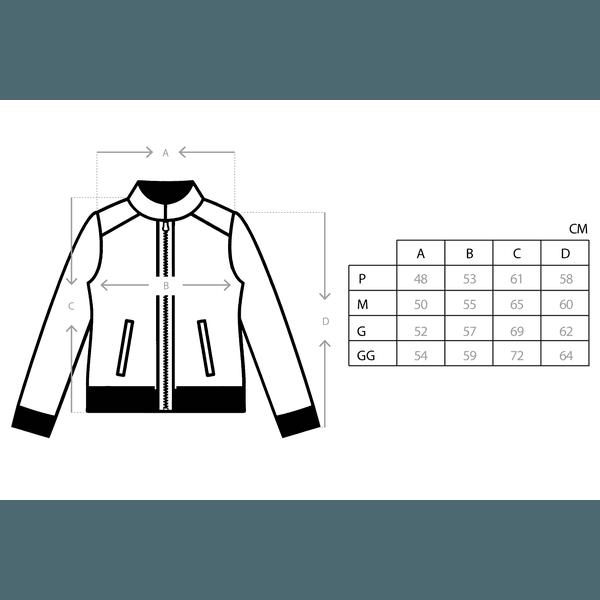 Jaqueta Class Track Jacket Preta