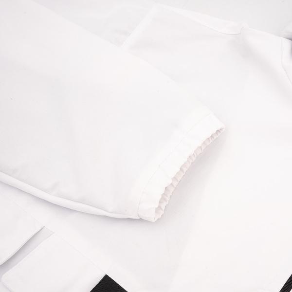 Jaqueta High Anorak Cargo Jacket White