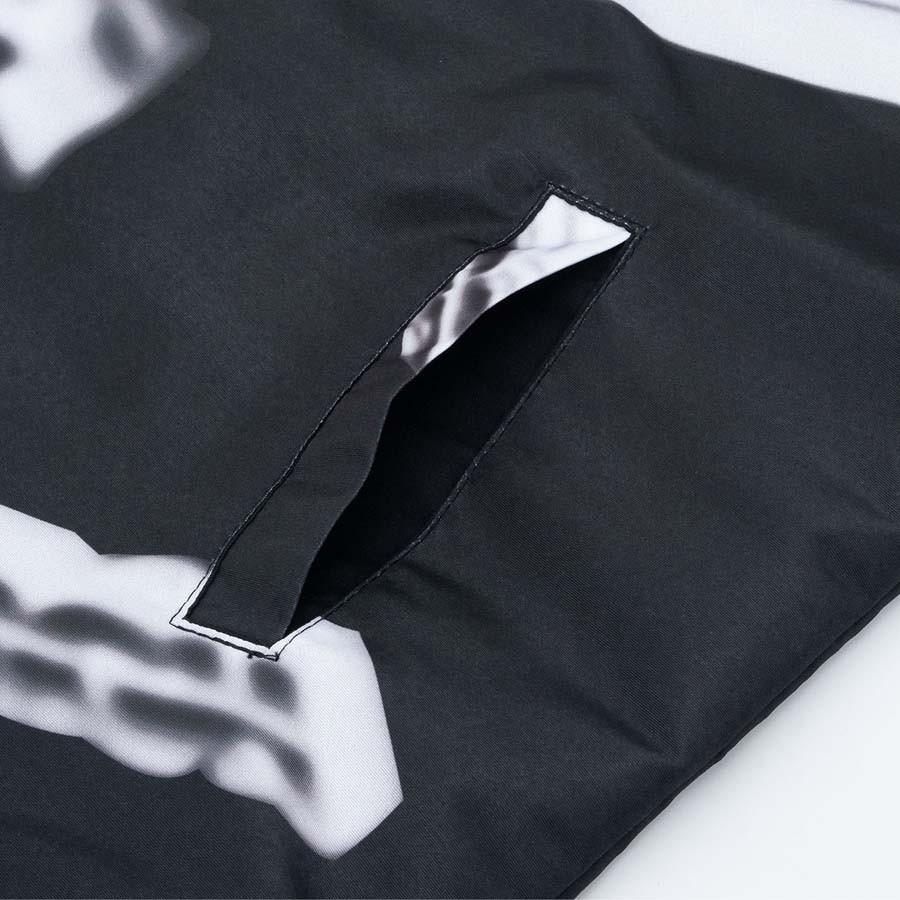 Jaqueta High Coach Jacket Metalic Black