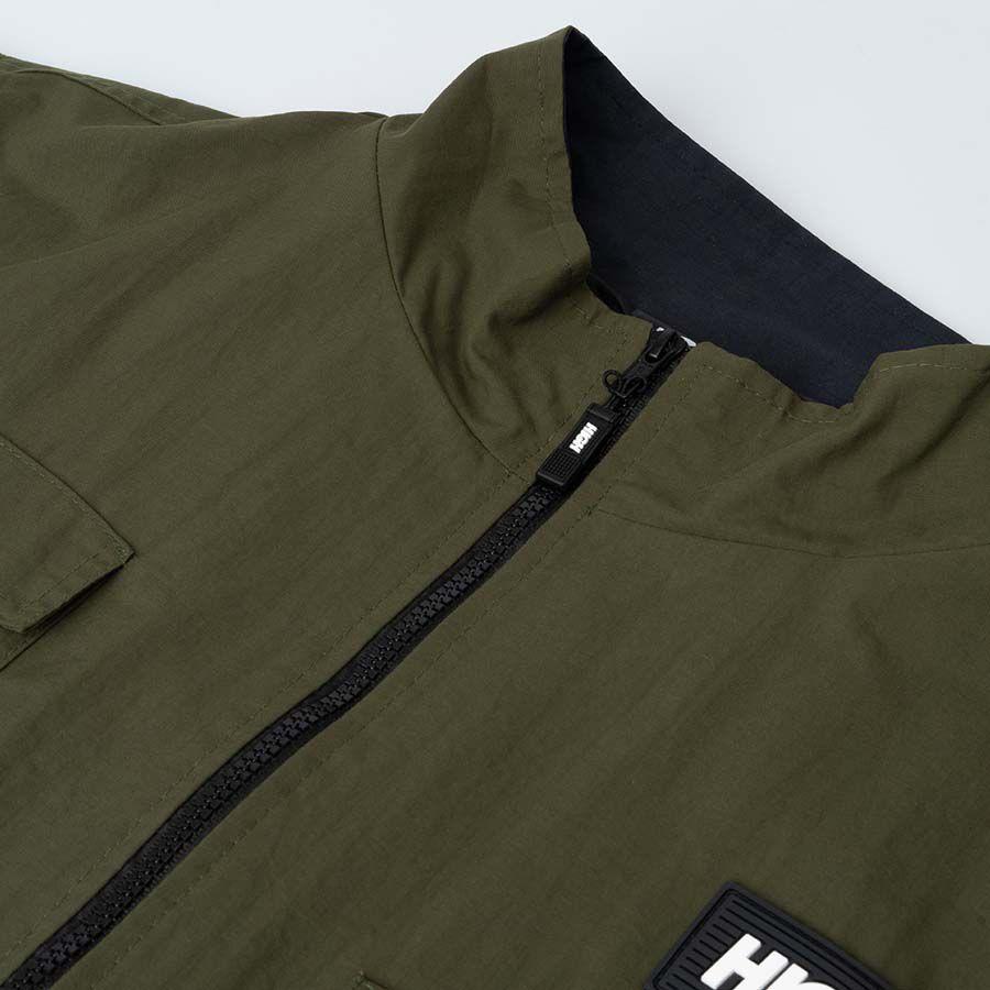 Jaqueta High College Cargo Jacket Olive Green Black